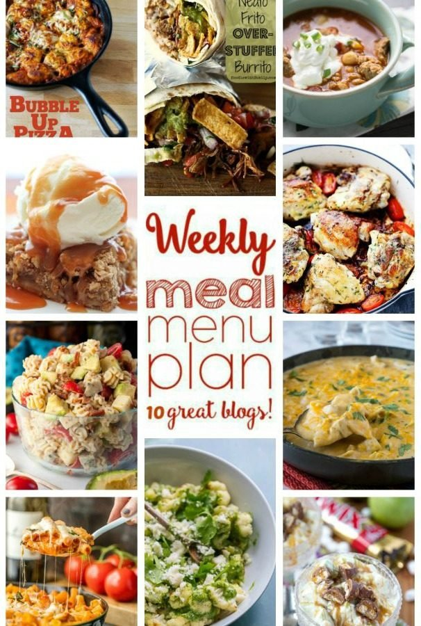 Easy Meal Plan Week 63 from Foodiewithfamily and friends.