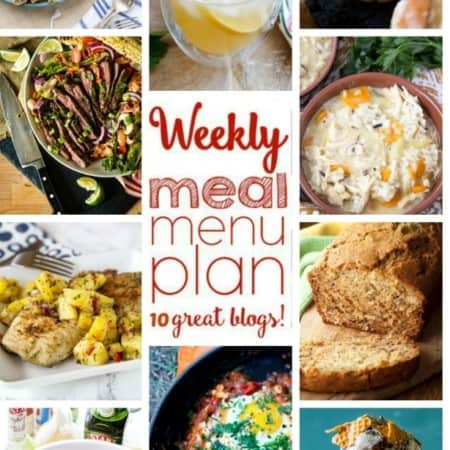 Easy Meal Plan Week 60 from foodiewithfamily and friends.