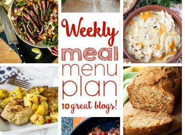 Easy Meal Plan Week 60