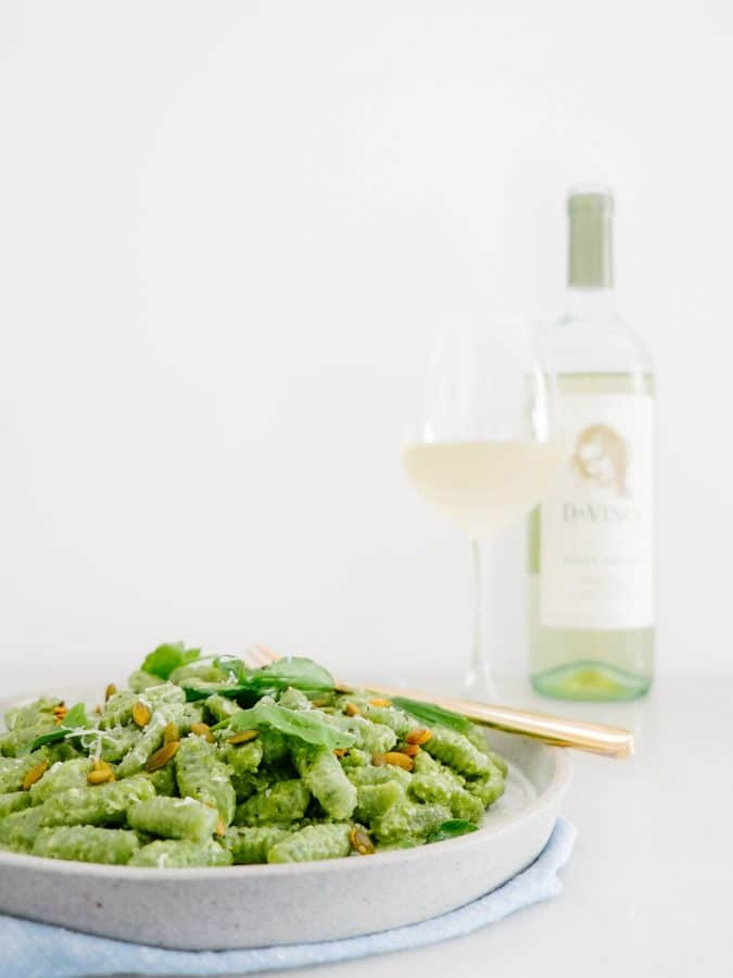 Kale Ricotta Cavatelli from FixFeastFlair