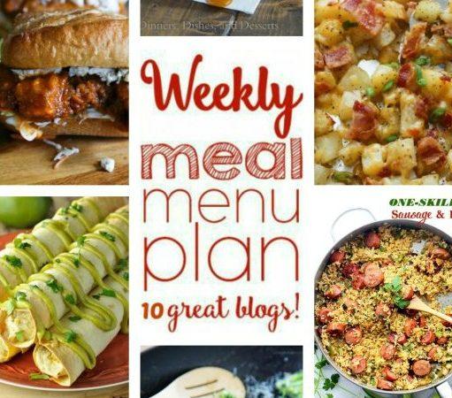 Easy Meal Plan Week 62