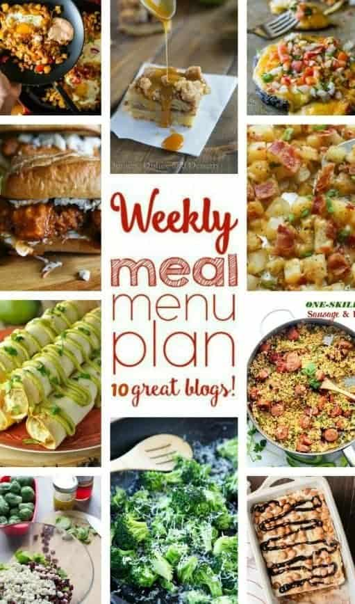 Easy Meal Plan Week 62 from foodiewithfamily and friends