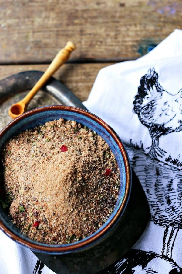 Cranberry Dry Rub Spice Blend for poultry, venison, beef, pork, fish, and vegetables.