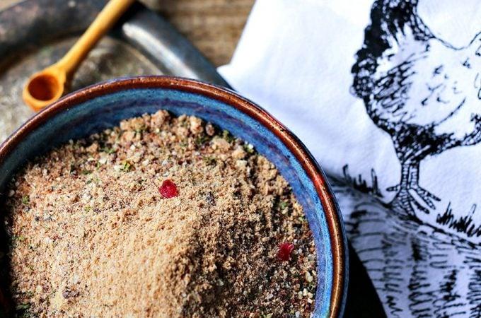 Cranberry Dry Rub