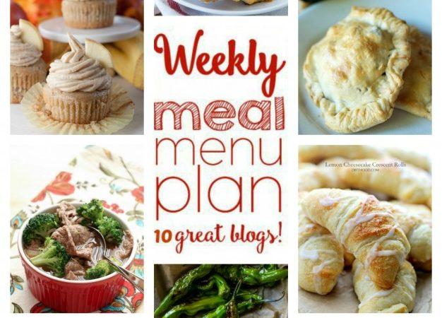 Easy Meal Plan Week 64