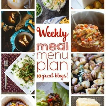 Easy Meal Plan Week 66 from foodiewithfamily and friends.
