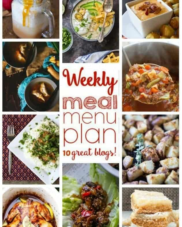 Easy Meal Plan Week 67