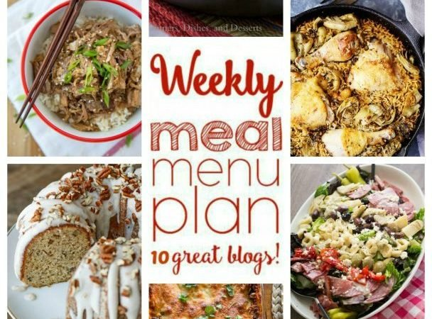 Easy Meal Plan Week 66