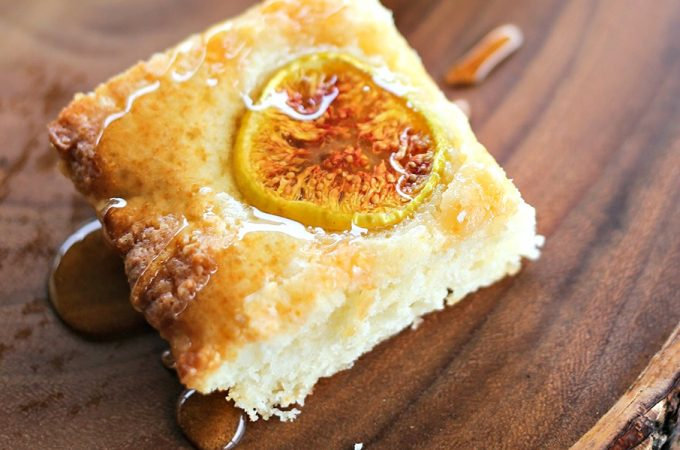 Fig and Honey Snack Cake