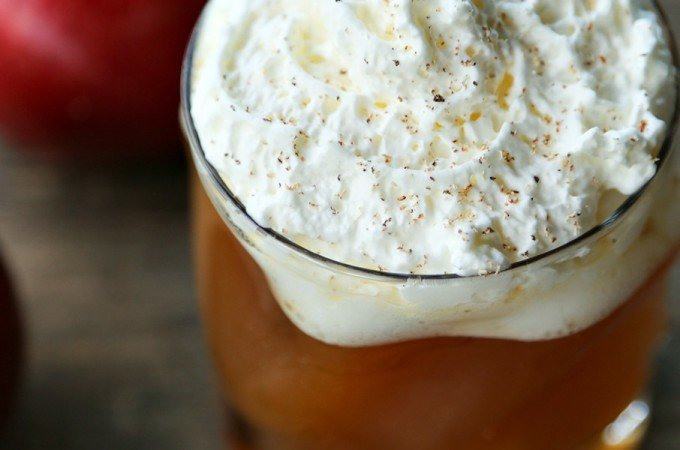 Hot Maple Bourbon Apple Cider