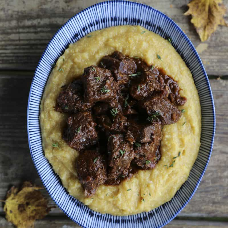Peposo - Peppered Beef Stew is a traditional Tuscan dish that warms you from the inside out. www.foodiewithfamily.com