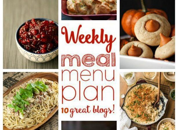Easy Meal Plan Week 68