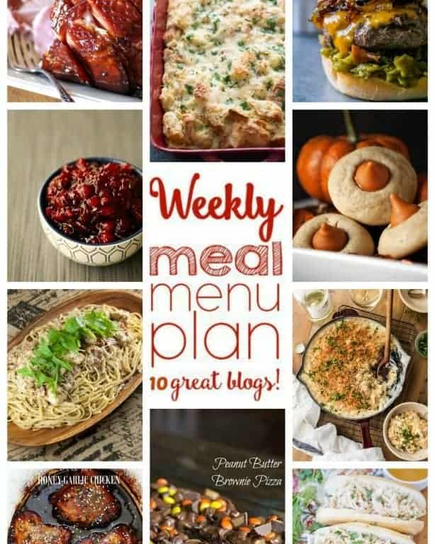 Easy Meal Plan Week 68