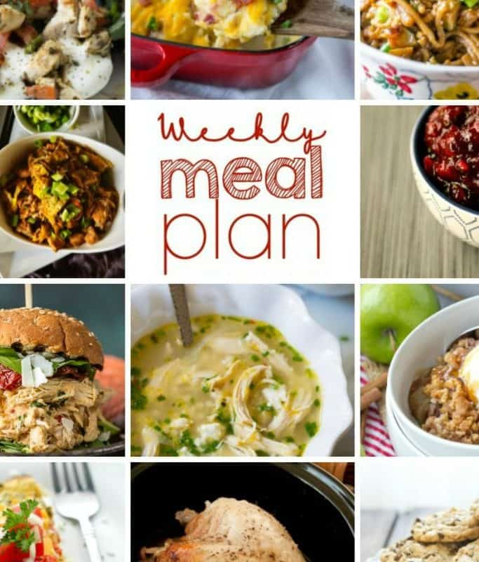Easy Meal Plan Week 70 from Foodiewithfamily and friends!