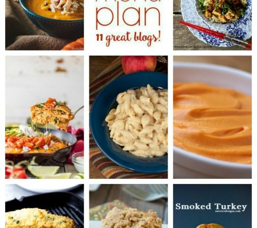 Easy Meal Plan Week 71