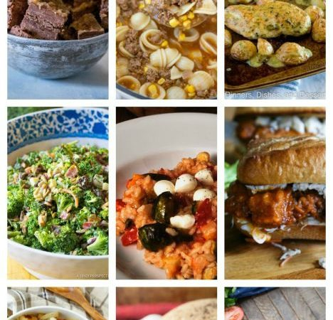 Easy Meal Plan Week 77