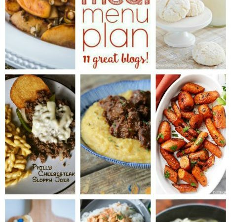 Easy Meal Plan Week 73