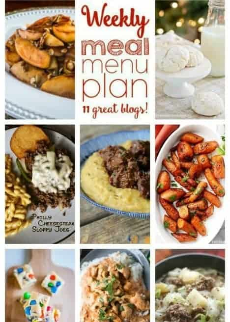 Easy Meal Plan Week 73 from foodiewithfamily and friends