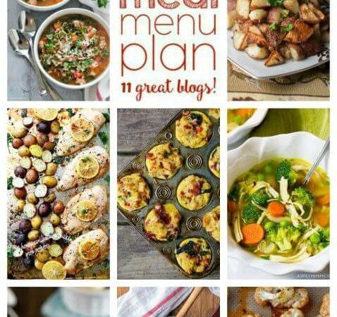 Easy Meal Plan Week 78
