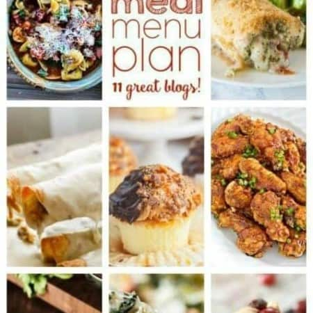 Easy Meal Plan Week 79