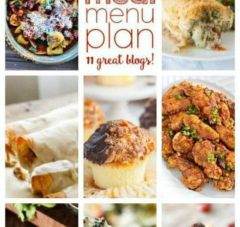 Easy Meal Plan Week 79