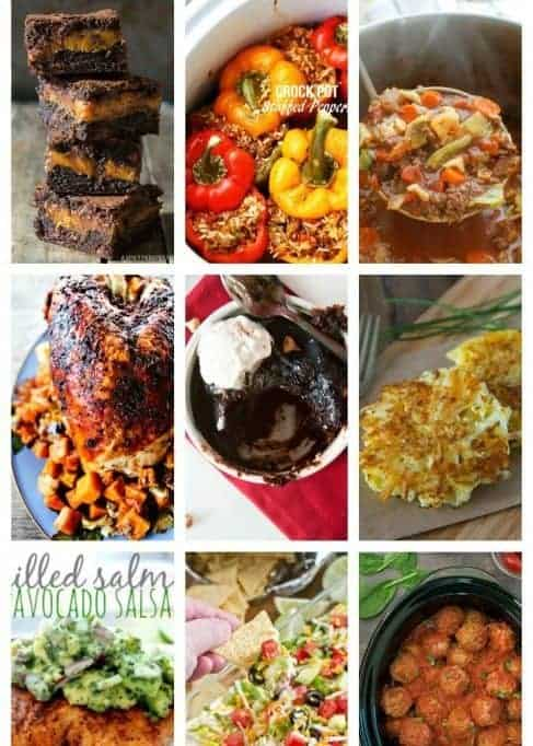 Easy Meal Plan Week 80: 11 great bloggers bringing you a full week of main dishes, side dishes and desserts.