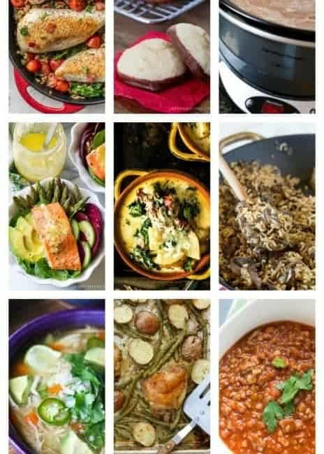 Easy Meal Plan Week 81: 11 great bloggers bringing you a full week of main dishes, side dishes and desserts.