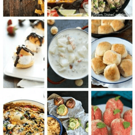 Easy Meal Plan Week 84 with 11 great bloggers bringing you a week's worth of main dishes, side dishes, and desserts!