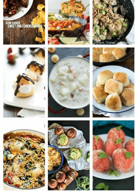 Easy Meal Plan Week 84