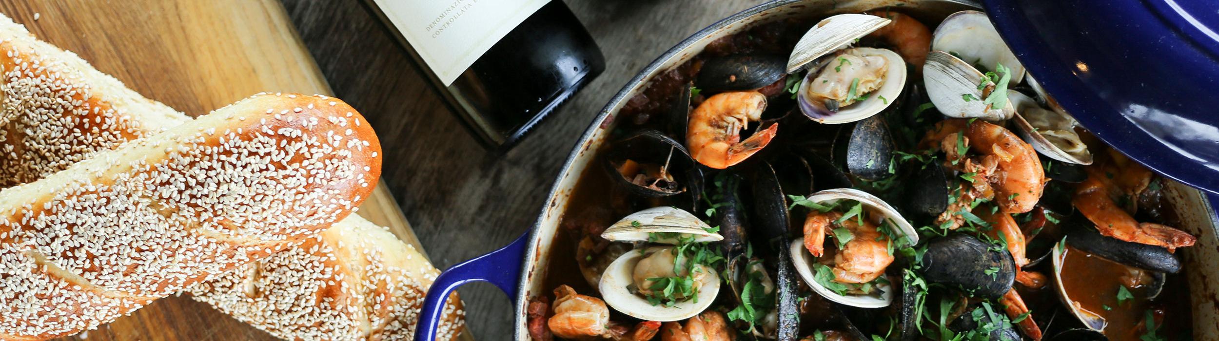 Cioppino – Italian Seafood Stew
