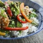 Fabulously fast, filling, and flavourful, this Asian Chicken Stir Fry Sheet Pan Meal will please everyone and feed a crowd economically. Fabulously fast, filling, and flavourful, this Asian Chicken Stir Fry Sheet Pan Meal will please everyone and feed a crowd economically.