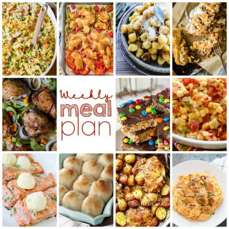Easy Meal Plan Week 88