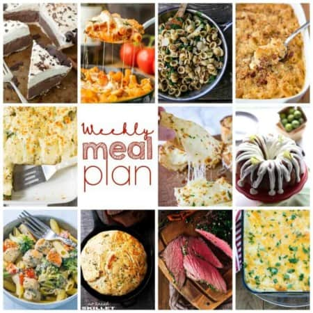 Easy Meal Plan Week 89 has 11 top food bloggers bringing you a week's worth of main dishes, side dishes, and desserts.