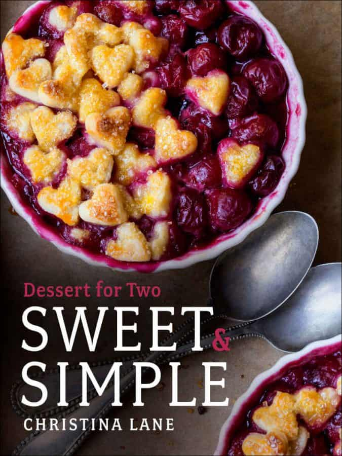 Sweet & Simple: the latest cookbook from Christina LanEasy Double Chocolate Nutella Cookies and a review of Sweet & Simple: the latest cookbook from Christina Lane of Dessert for Two.e of Dessert for Two.