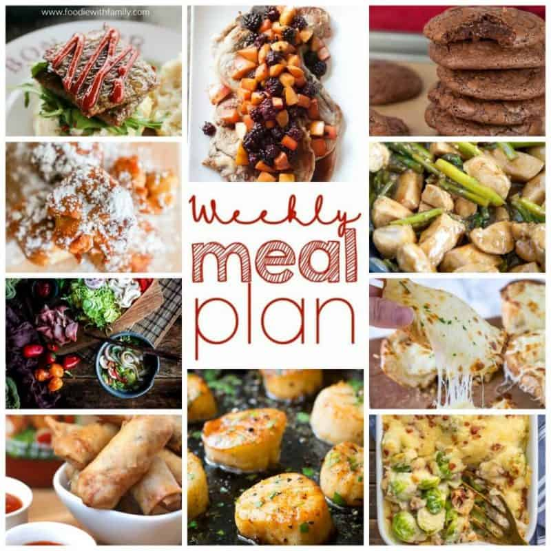 Easy Meal Plan Week 93