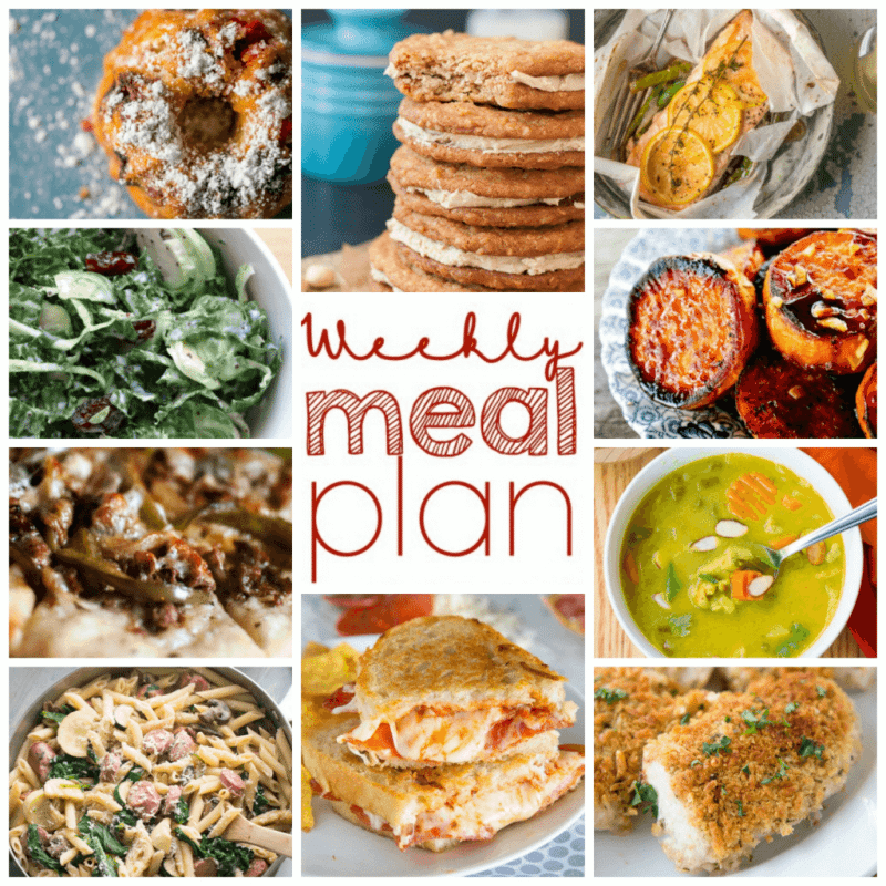 Easy Meal Plan Week 92: 11 great bloggers bringing you a week's worth of main dishes, side dishes, and desserts.