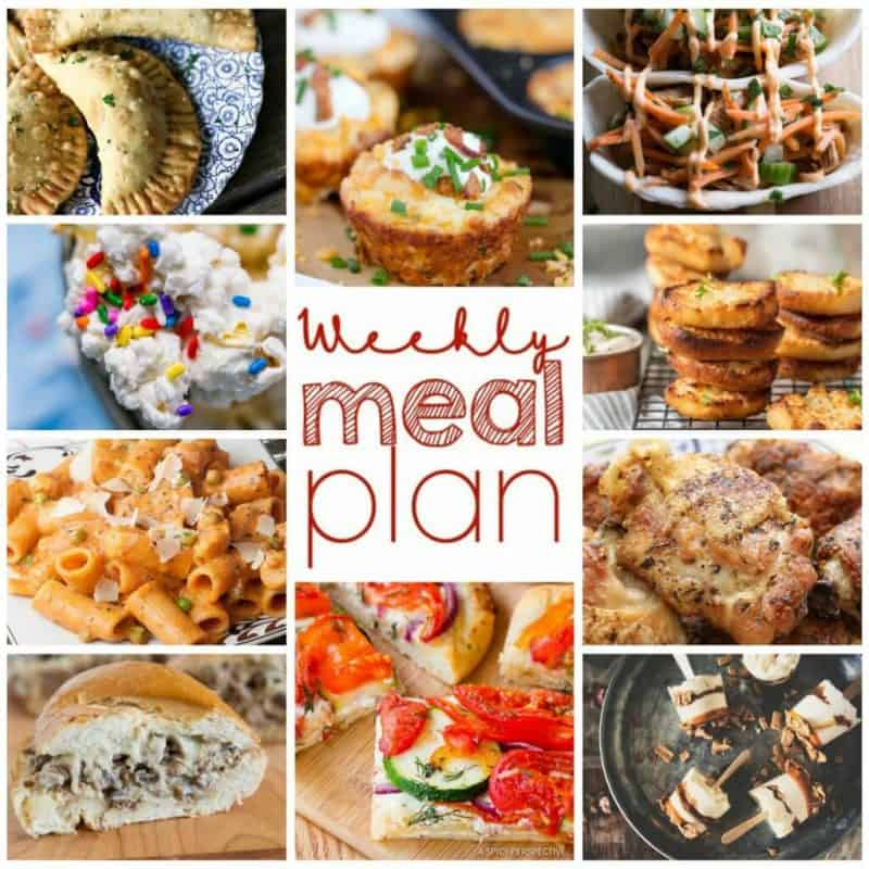 Easy Meal Plan Week 94 has 11 top food bloggers bringing you a week's worth of main dishes, side dishes, and desserts!