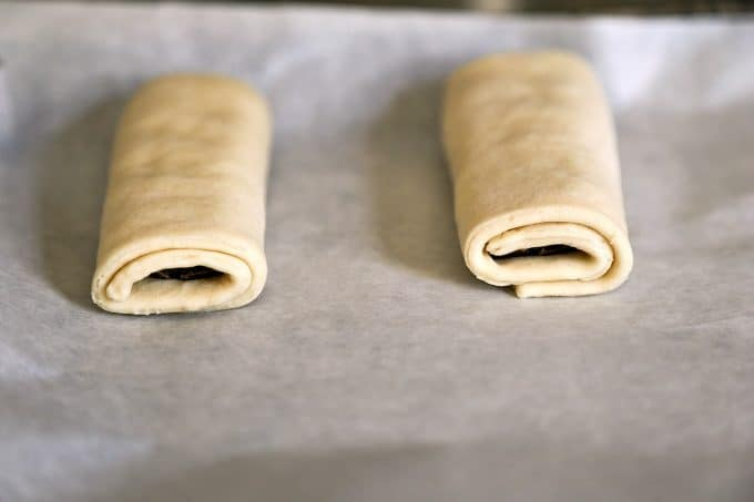 Making pain au chocolat with foodiewithfamily.com