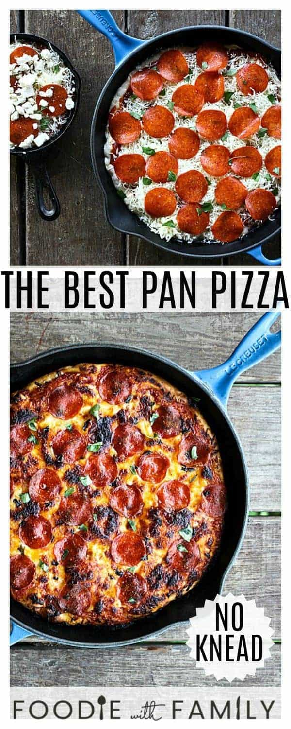 This simple tutorial on The Best Pan Pizza gives you the why and how of great pan pizzas: what kind of pan to use and the best recipe for the job!