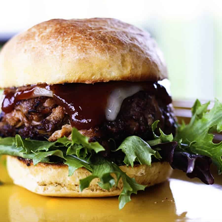 Southern BBQ Pork Burgers
