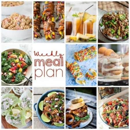 Easy Meal Plan Week 103
