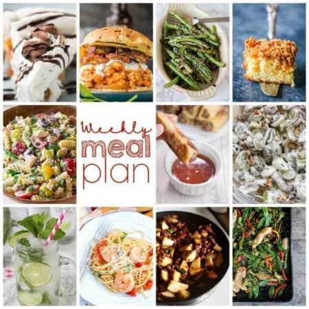 Easy Meal Plan Week 106