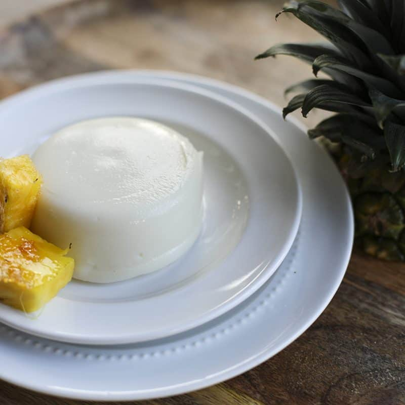 Piña Colada Tembleque – Pineapple Coconut Pudding