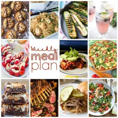 Easy Meal Plan Week 108
