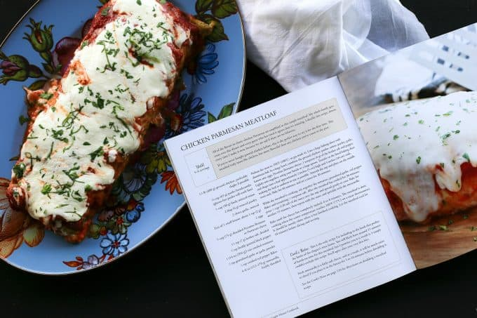 Chicken Parmesan Meatloaf from The Weeknight Dinner Cookbook on foodiewithfamily