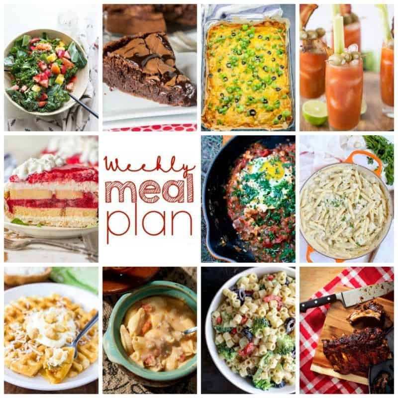 Easy Meal Plan Week 115