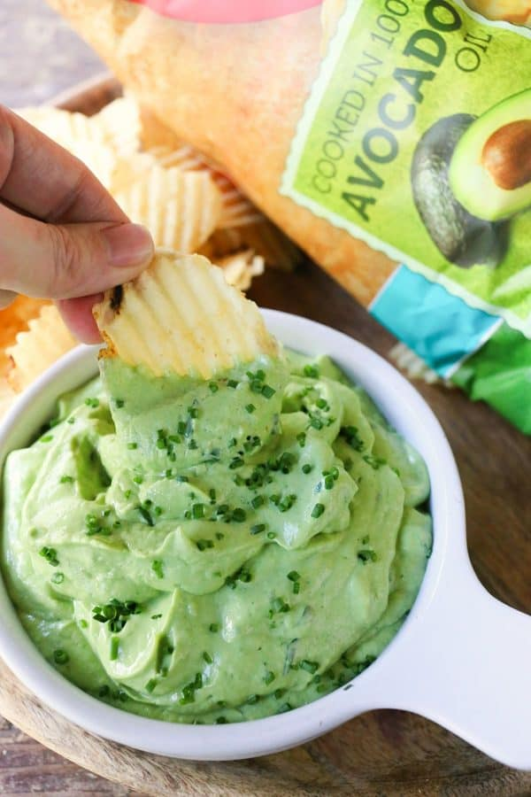Green Goddess Guacamole with Hass Avocados #sponsored