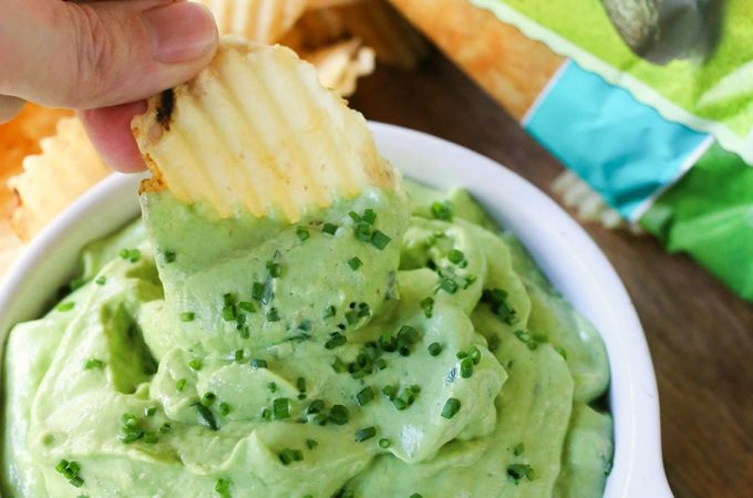 Green Goddess Guacamole