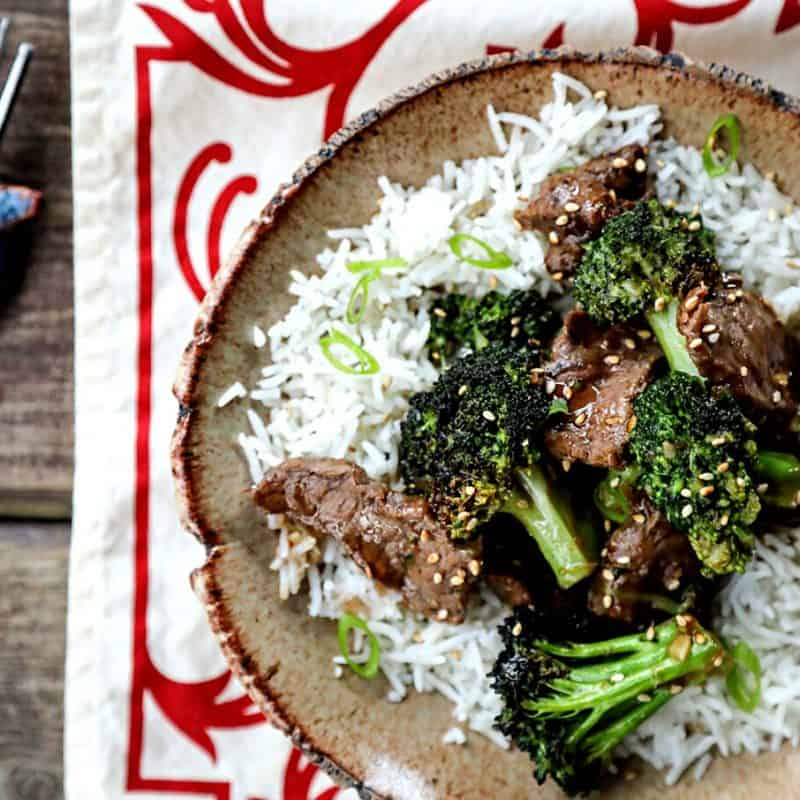 Easy Spicy Broccoli Beef
