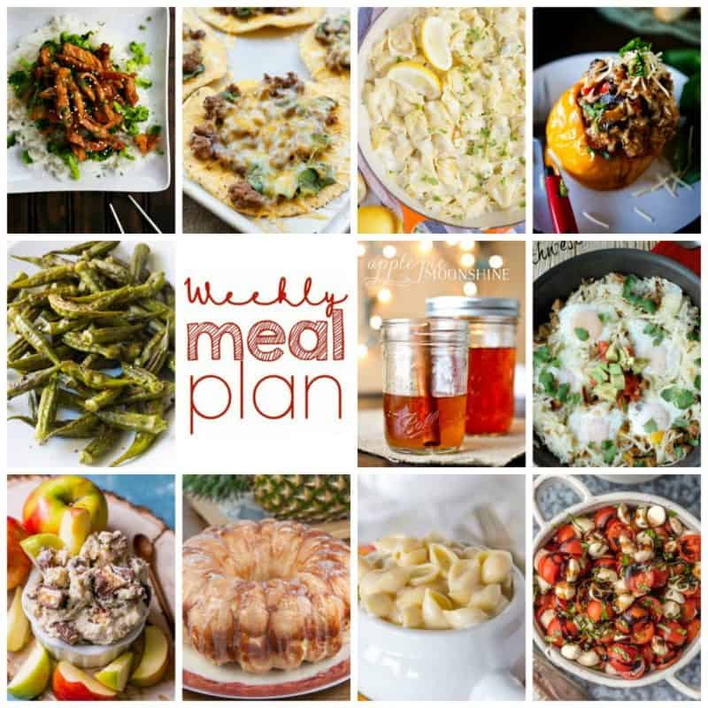 Easy Meal Plan Week 113
